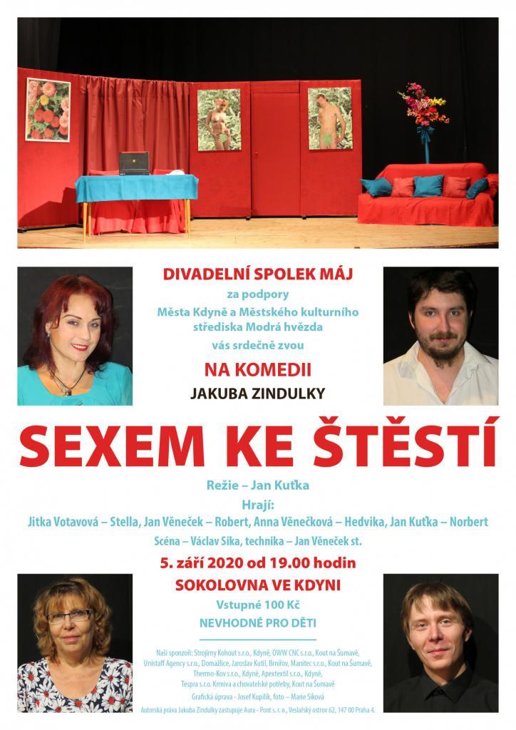 SEXEM KE ŠTĚSTÍ - Divadelní spolek Máj 1
